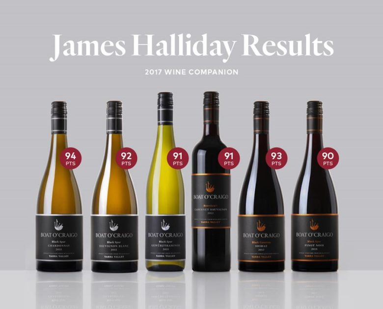 James Halliday Wine Companion results 2017